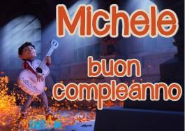 Michele buon compleanno