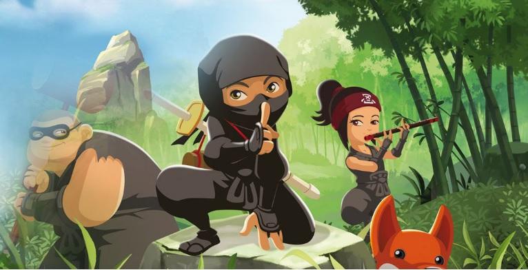 Mini ninjas - Cartoni animati