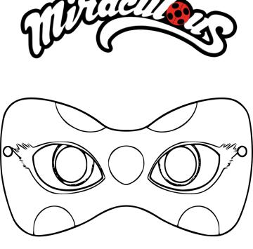 Maschera Ladybug Da Stampare Cartoni Animati
