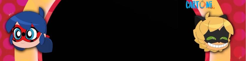 Ladybug e Chat Noir invito da personalizzare online - Cartoni animati