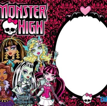 Monster High inviti compleanno - Cartoni animati