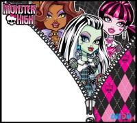 Inviti feste di compleanno Monster High - Inviti feste compleanno