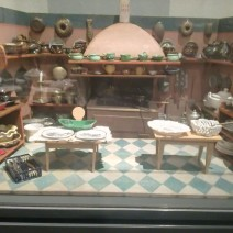 Cucine delle bambole al museo dei giocattoli a Norimberga - Museo giocattoli