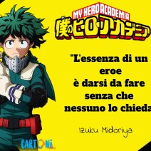 My hero academia le frasi più belle - Frasi Anime