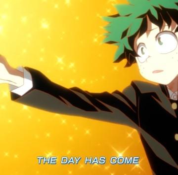 The Day sigla ufficiale di My Hero Academia - Cartoni animati