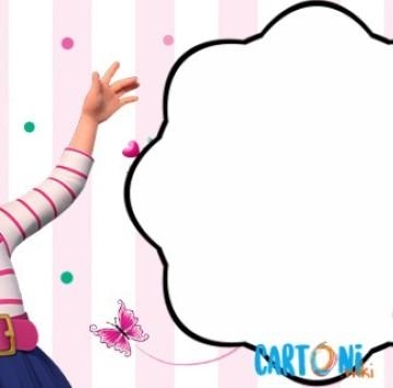 Fancy Nancy inviti compleanno - Cartoni animati