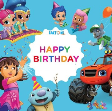 Happy Birthday con i cartoni animati di Nick Junior - Cartoni animati