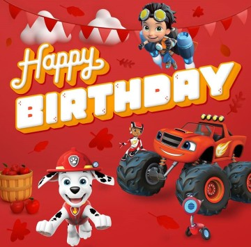 Happy birthday con Nick Jr. - Cartoni animati