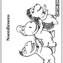Stampa e colora Nocedicocco - Disegni da colorare
