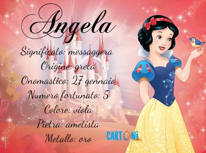 Angela significato e origine del nome - Cartoni animati