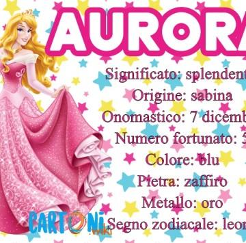 Aurora scopri la storia del nome e del santo a cui è legato - Cartoni animati