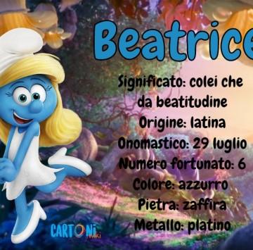 Beatrice significato e origine del nome - Cartoni animati