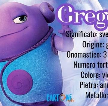 Gregorio origine e significato del nome - Cartoni animati
