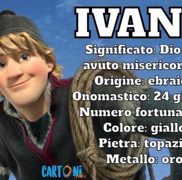 Ivano origine e significato del nome - Cartoni animati