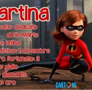 Martina origine e significato del nome - Cartoni animati