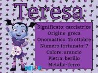 Teresa significato e origine del nome - Nomi