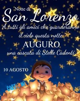 Notte di San Lorenzo 10 agosto