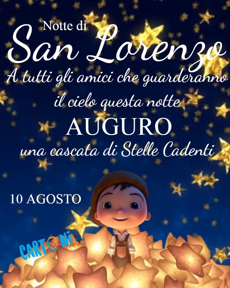 Notte di San Lorenzo 10 agosto - Cartoni animati