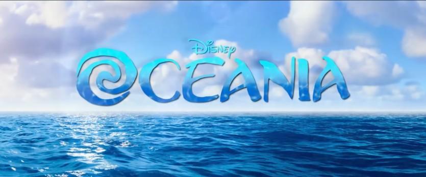 Oceania (Moana) - Cartoni animati