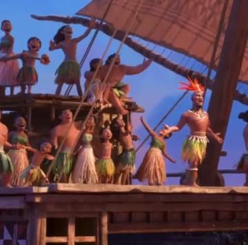 La strada di casa Oceania - Cartoni animati