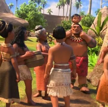 Oceania testo Ogni mio passo - Cartoni animati
