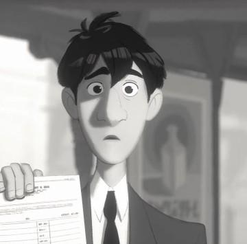 Paperman - Cartoni animati