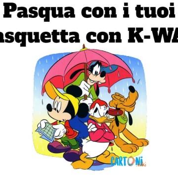 Pasqua con i tuoi e Pasquetta con K-way - Cartoni animati
