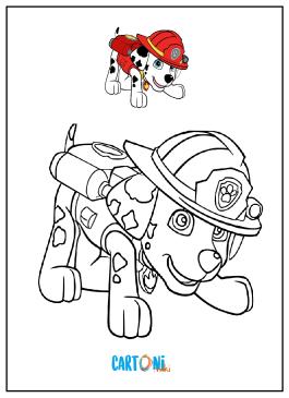 Paw patrol disegni da stampare cartoni animati for Immagini da stampare paw patrol