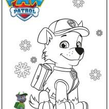Zuma paw patrol disegni - Stampa e colora