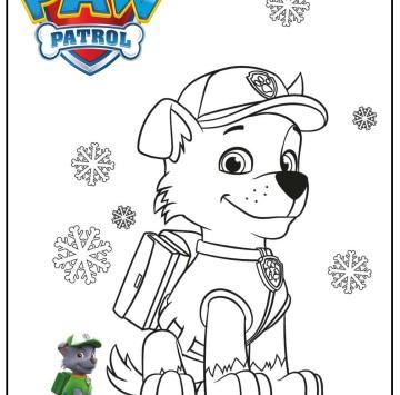 Zuma paw patrol disegni - Cartoni animati