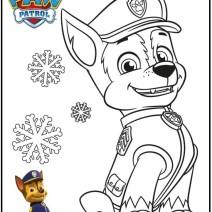 Paw patrol disegni per bambini - Stampa e colora