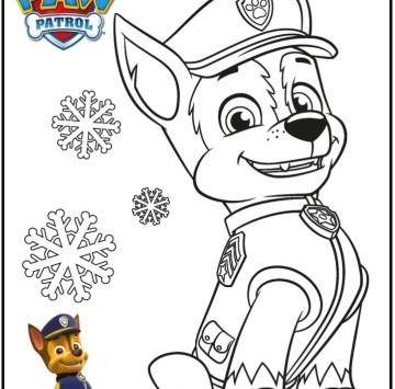 Paw patrol disegni per bambini - Cartoni animati