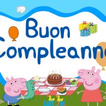 Buon compleanno con Peppa Pig e George - Buon compleanno