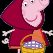 Peppa pig clipart Cappuccetto rosso - Clipart