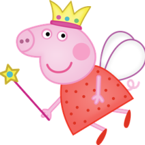 Peppa Pig fatina clipart - Clipart