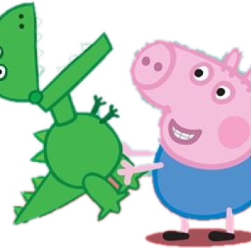 George pig and dinosaur - Cartoni animati