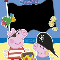 Peppa Pig party invitation cards - Party invitation cards