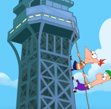 Phineas e Ferb sigla iniziale con testo - Cartoni animati