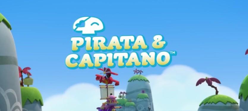 Pirata e Capitano - Cartoni animati