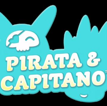 Pirata & Capitano logo - Cartoni animati