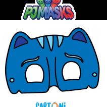 Maschera di Gattoboy dei Superpigiamini - Maschere