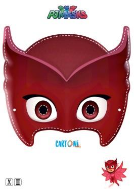 Owlette Printable Mask