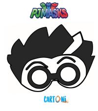 Maschera di Romeo Pj Masks - Maschere, Carnevale, Pj Masks, superpigiamini, scienziato, Halloween, mask, Pj mask, bambini, stampabili, printable