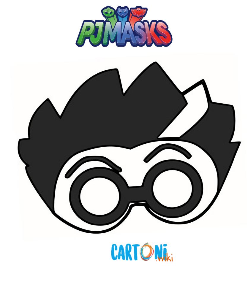 Maschera di Romeo Pj Masks - Cartoni animati