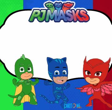Pj Masks Frame - Cartoni animati
