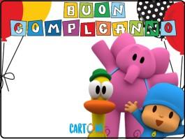 Auguri di Buon compleanno con Pocoyo