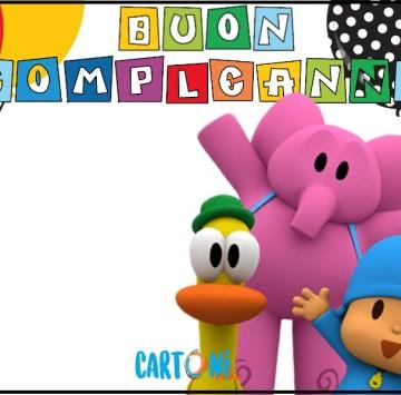 Auguri di Buon compleanno con Pocoyo - Cartoni animati