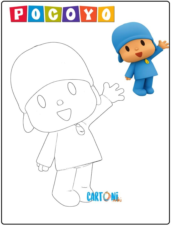Pocoyo Disegni Da Colorare Cartoni Animati