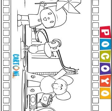 Disegno di Pocoyo - Cartoni animati