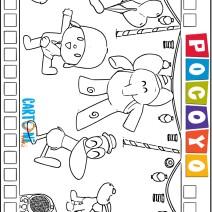 Pocoyo disegni da stampare - Disegni da colorare